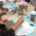 Paint a pumpkin canvas workshop