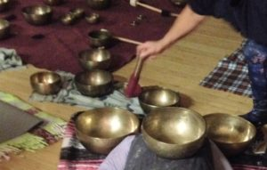 Meditation with Tibetian Bowls