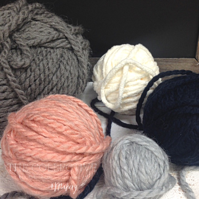 Knitting and crocheting group with The Collective lhe + Makery