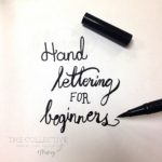 Hand-lettering for beginners $25