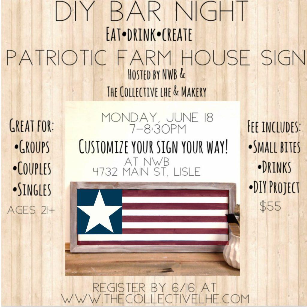 Farmhouse collective sign