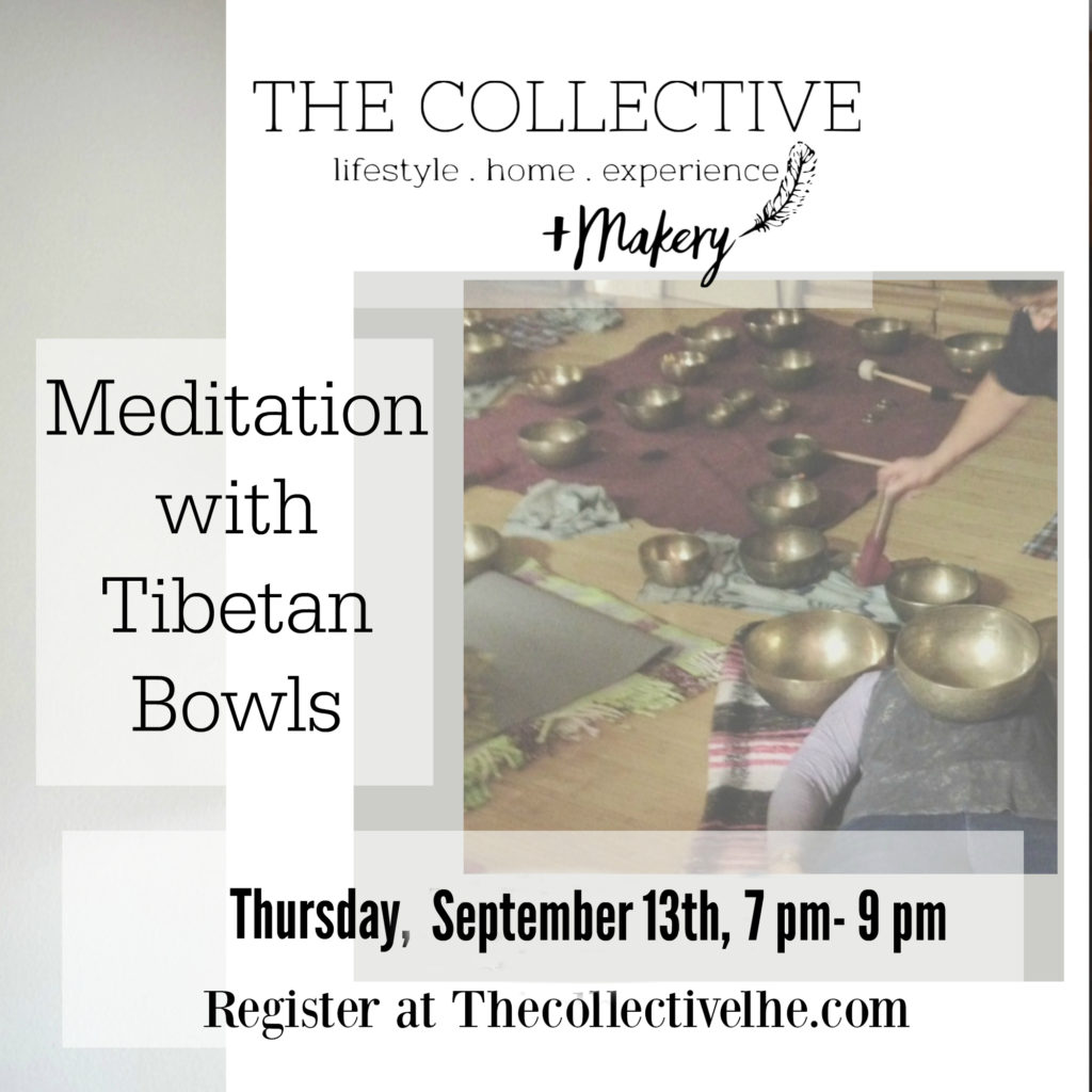 Meditation with Tibetan Bowls