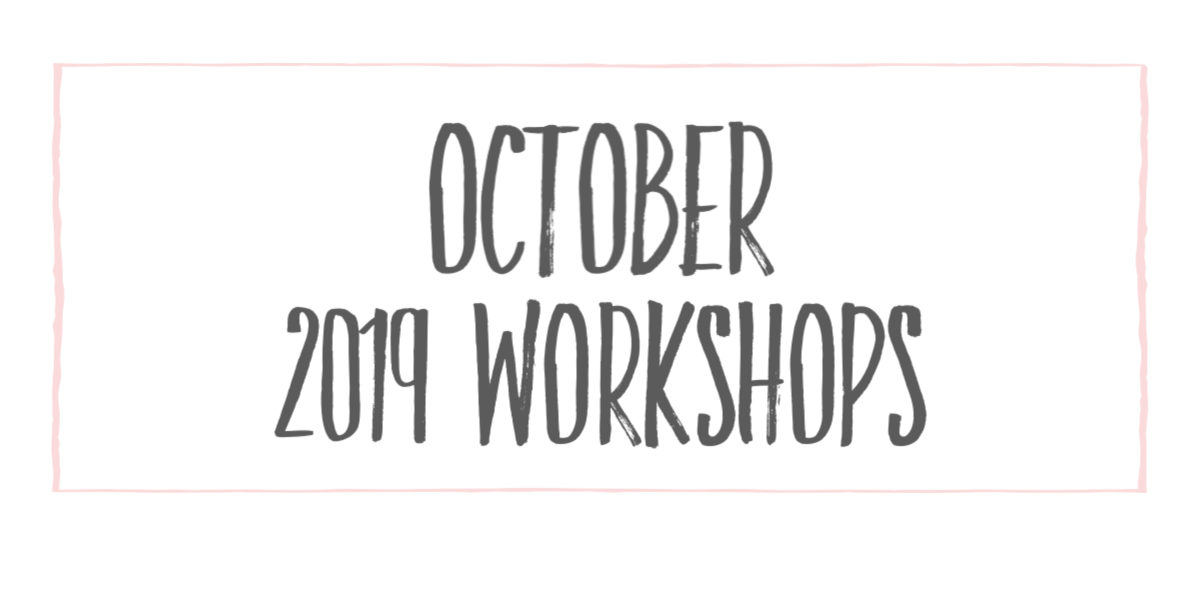 October workshops at The Collective lhe + Makery Lisle,IL