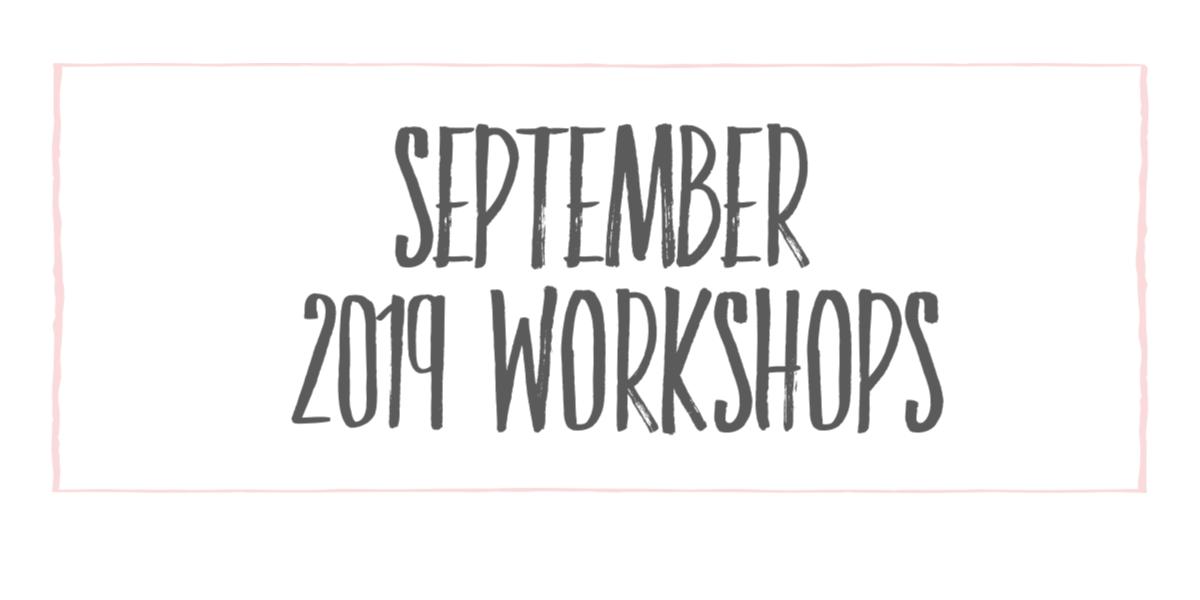 september 2019 workshop
