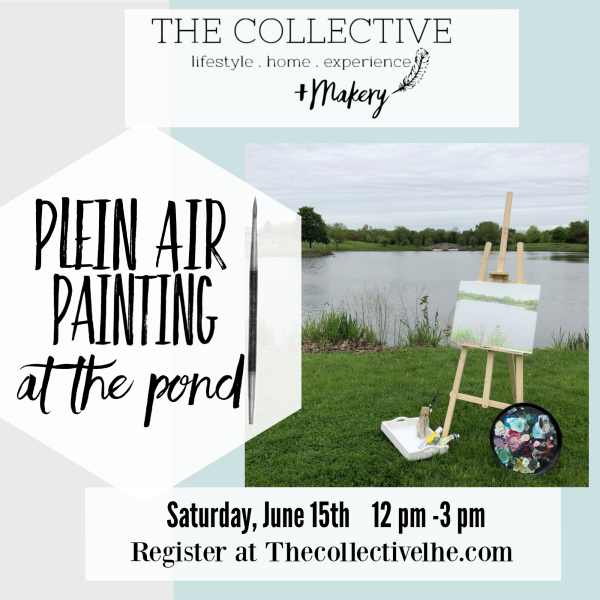 Plein Air Painting at The Collective lhe + Makery LIsle, IL