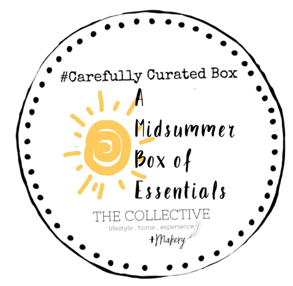 Midsummer Box of Essentials Carefully Curated box