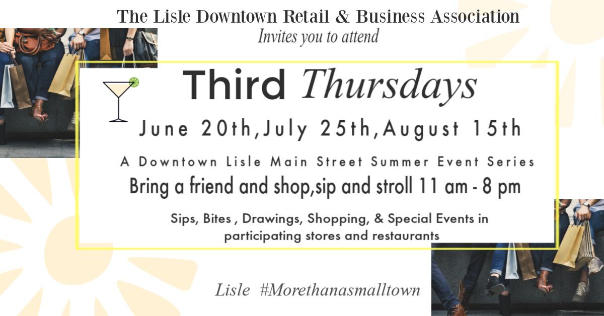 Third Thursdays in Downtown Lisle, IL