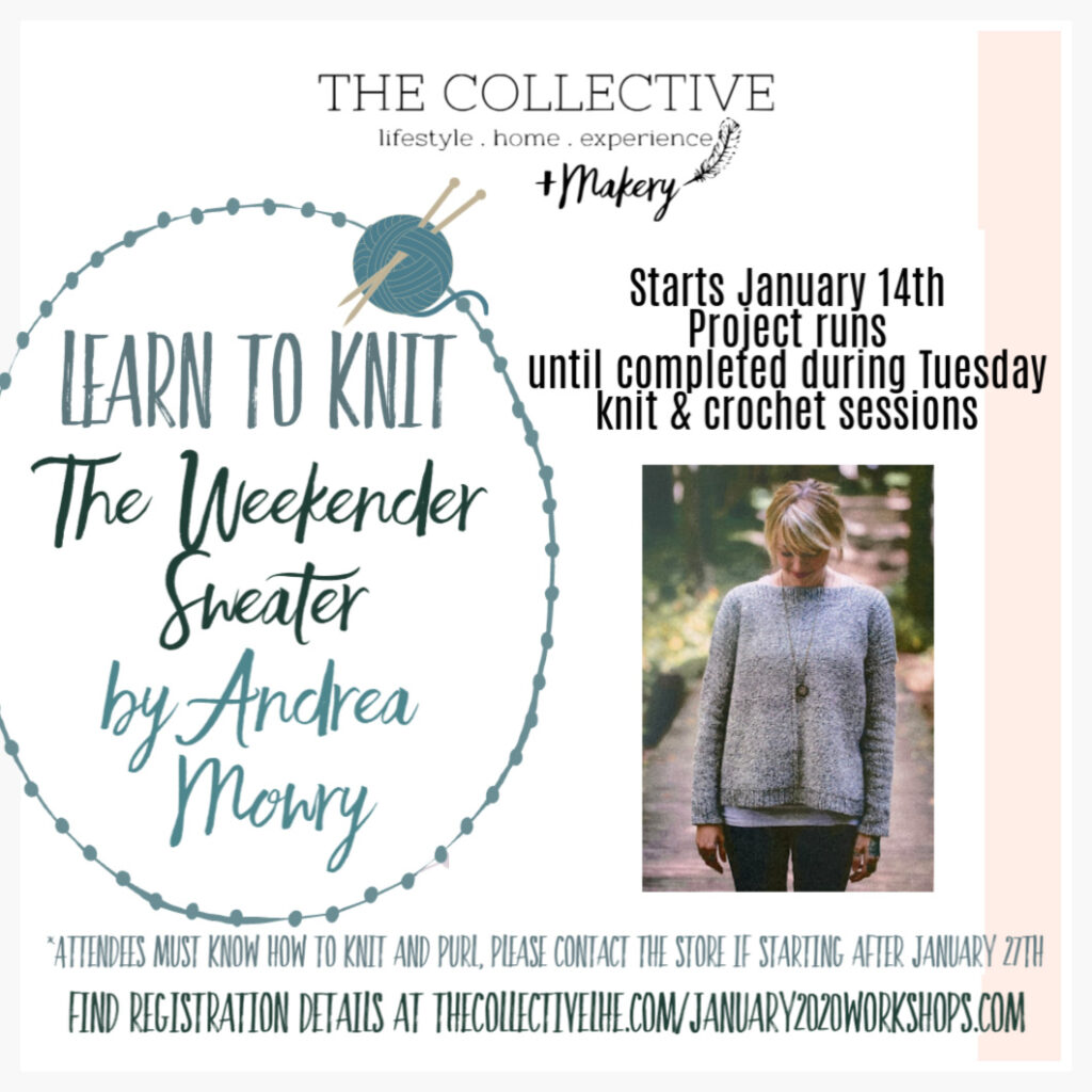 January 14th knit along
